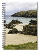 Durness Beach Spiral Notebook