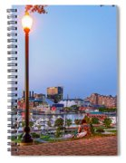 Dusk At Federal Hill Spiral Notebook