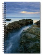 Dusk At Kiwanda  Spiral Notebook