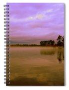 Dusk At Lake Murray Sc Spiral Notebook