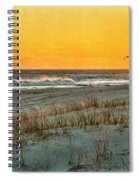 Dusk At The Shore Spiral Notebook