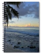 Dusk Beach Spiral Notebook