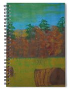 Dusk In The County Spiral Notebook