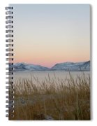 Dusk On Grundarfjordur Spiral Notebook
