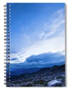Dusk On Mount Evans Spiral Notebook