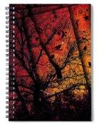 Dusk Song Spiral Notebook