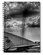 Dust Devil Spiral Notebook