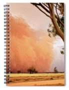 Dust Storm Spiral Notebook