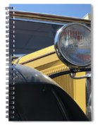 Dusty Old Ford Spiral Notebook