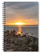 Dutch December Beach 002 Spiral Notebook