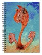 Dutch Pride Pink Orange Spiral Notebook