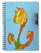 Dutch Pride Yellow And Orange Spiral Notebook