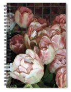 Dutch Tulips Dutch Tile Spiral Notebook