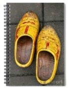 Dutch Wooden Shoes Spiral Notebook