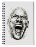 Dwayne The Rock Johnson Spiral Notebook