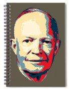 Dwight D. Eisenhower Pop Art Spiral Notebook