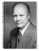 Dwight Eisenhower Spiral Notebook