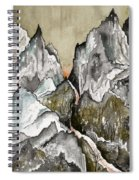 Dwimorberg     The Haunted Mountain  Spiral Notebook