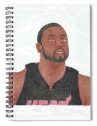 Dwyane Wade Spiral Notebook