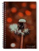 Dying Blowball Spiral Notebook