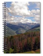 Dying Evergreens Spiral Notebook