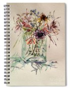 Dying Meadow Spiral Notebook