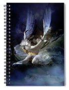 Dying Swan Spiral Notebook