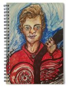 Dylan Larkin Spiral Notebook