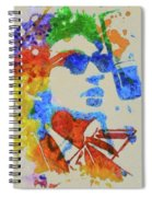Dylan Watercolor Spiral Notebook