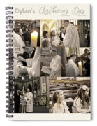 Dylan's Christening Day V3 Spiral Notebook