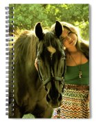Dylly And Lizzy Spiral Notebook