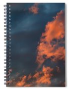 Dynamic Sky Spiral Notebook