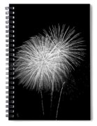 Bang Bang Black And White  Spiral Notebook