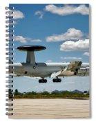 E-3 Sentry A W A C S Spiral Notebook