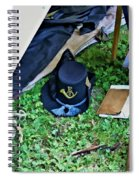 E Company Black Hat Spiral Notebook