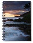 E Hamau O Makani Mai Auanei Aloha Paako Spiral Notebook
