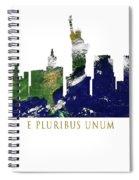 E Pluribus Unum Spiral Notebook