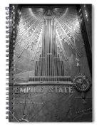 E S B W Spiral Notebook
