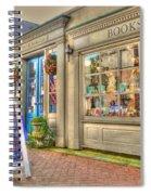 E. Shaver Bookseller Spiral Notebook