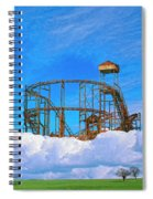 E Ticket Ride Spiral Notebook