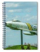 Eaa F-86 Sabre Spiral Notebook