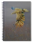 Eagle-abstract Spiral Notebook