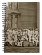 Eagle Band's Drum Corps. Native Sons Of The Golden West  Circa 1908 Spiral Notebook