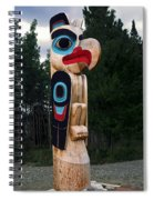 Eagle Clan Totem Pole Spiral Notebook