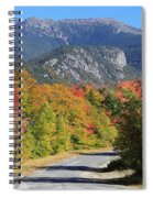 Eagle Cliff And Lafayette Spiral Notebook