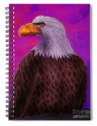 Eagle Crimson Skies Spiral Notebook