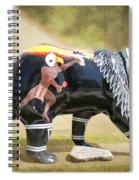 Eagle Dancer Bear Spiral Notebook
