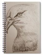 Eagle Drawing 1 Spiral Notebook