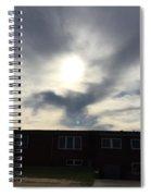 Eagle Cloud In The Carolina Sky Spiral Notebook