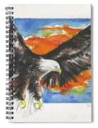 Eagle Of The Resurrection Spiral Notebook